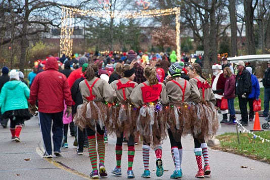 Holiday In Lights 5k 1