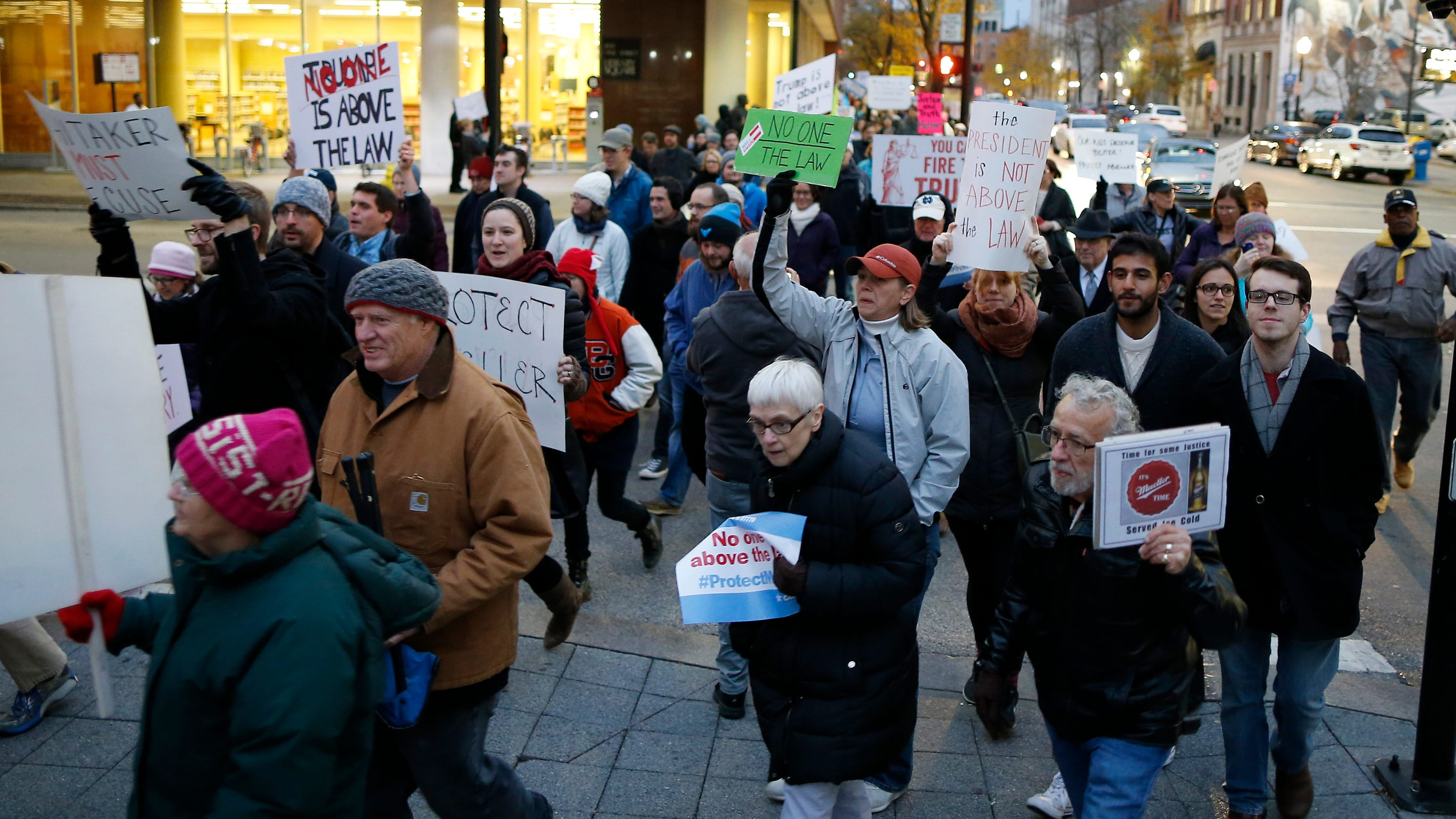 GALLERY: Protests to protect Mueller investigation after ...