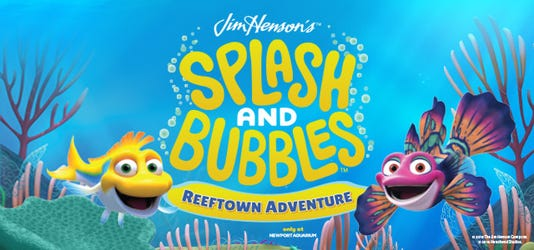 Reeftown Adventure at Newport Aquarium