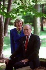 John and Barbara Willke, founders of Cincinnati Right to Life, in 2000.