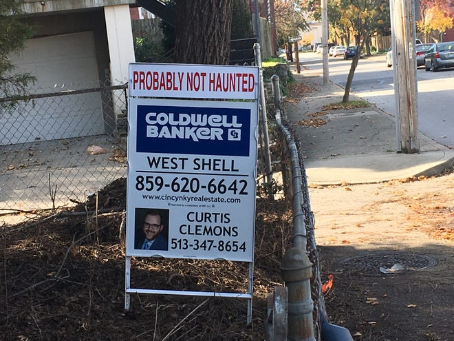"Realtor lists home as ""probably not haunted'' to drive interest."
