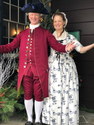 Ridley and Anne Enslow will perform music from the Hamilton era at 1 and 2:30 p.m. on Sunday, Nov. 11, at the Jacobus Vanderveer House & Museum in Bedminster.