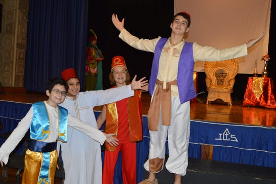 Immaculate Conception School theater group presents Aladdin Jr.