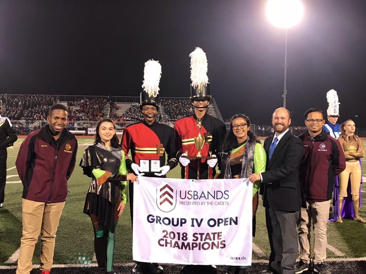 Edison High School's Marching Bandwill participate in the USBands National Competition for Group IV, on Saturday, Nov. 10, at MetLife Stadium in East Rutherford.