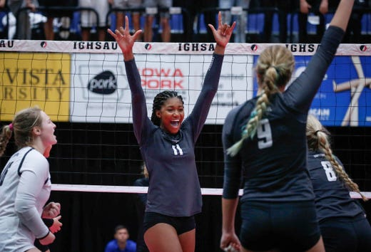 State volleyball: Results for Class 3A, 2A and 1A semifinals