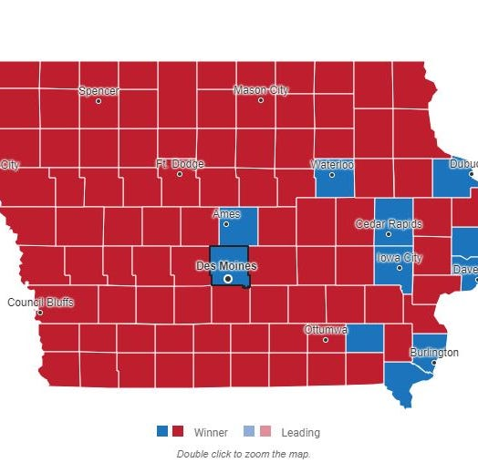 Iowa election 2018: County-by-county results for governor, more races