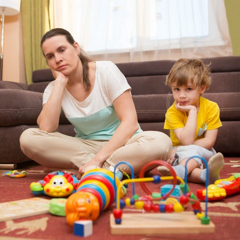 Husband refuses to help with care of young children