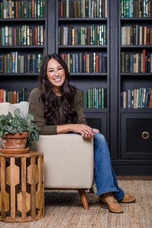 """HGTV star Joanna Gaines has a new book out, """"Homebody: A Guide to Creating Spaces You Never Want to Leave"""" (Harper Design, $40)."""