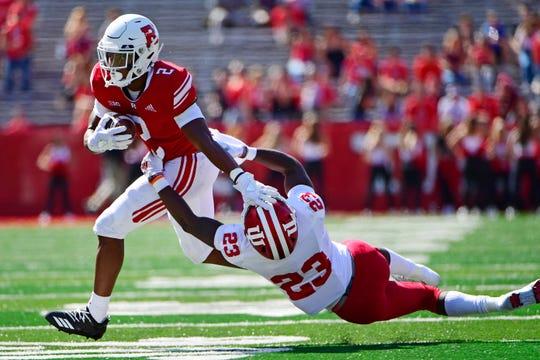 Rutgers running back Raheem Blackshear