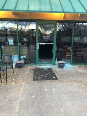 Domenic's was one of eight businesses broken into and robbed on Monday morning.