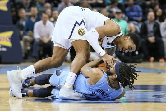 Nba Denver Nuggets At Memphis Grizzlies