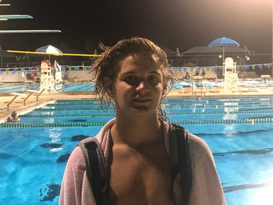 South Fort Myers sophomore diver Brandon Shepherd has emerged as one of the top divers in 3A in just over a year of taking up the sport and aims to place high at the state tournament in Stuart.