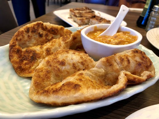 Roti canai from Ginger Bistro in Fort Myers.