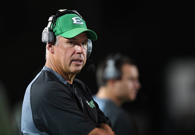 John Windham has resigned after four seasons as football coach at Easley High School.