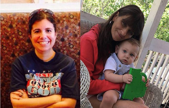 "Nicolette ""Nikki"" Green of Myrtle Beach and Wendy Newton of North Carolina."