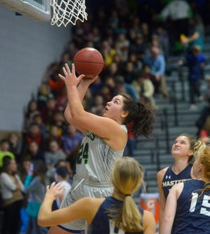 Parker Esary and the University of Providence women cruised to victory Friday night at McLaughlin Center.