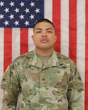Sgt. Marcos John Aguon.