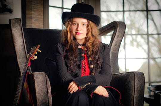 Fourteen-year-old singing sensation EmiSunshine, seen here in a publicity photo, is already a recording artist who has appeared multiple times on national TV. She will perform at Henderson's Preston Arts Center on Saturday, Nov. 17.