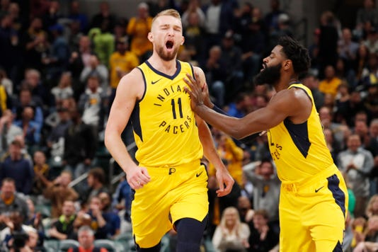 Nba Philadelphia 76ers At Indiana Pacers