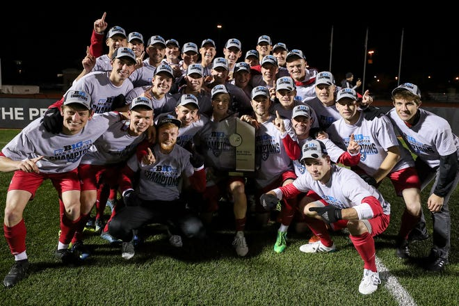 IU men's soccer team captured the Big Ten regular season championship and will try to add the tournament title this weekend in Westfield.