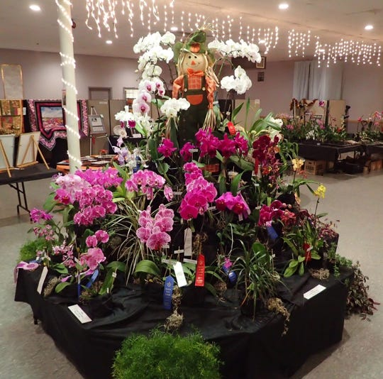 The Eastern Iowa Orchid Society took top honors for People's Choice in Cedar Rapids.
