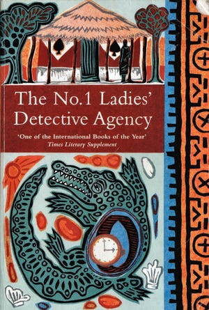 "The cover of ""The No. 1 Ladies' Detective Agency"" by Alexander McCall Smith."