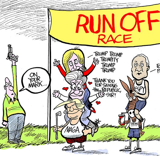 Marshall Ramsey: Runoff!