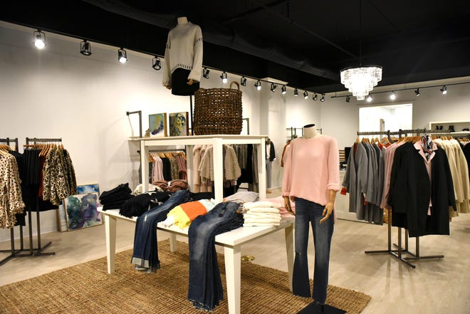 Inside view of Frock Fashions at The District at Eastover