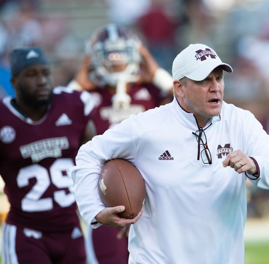 Who has impressed Mississippi State defensive coordinator Bob Shoop during spring football