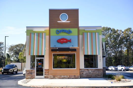 Captain D's restaurant opened October 29, in South Jackson.