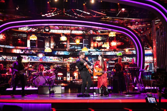 """The Young Fables perform on the new USA Network reality show, """"Real Country."""""""