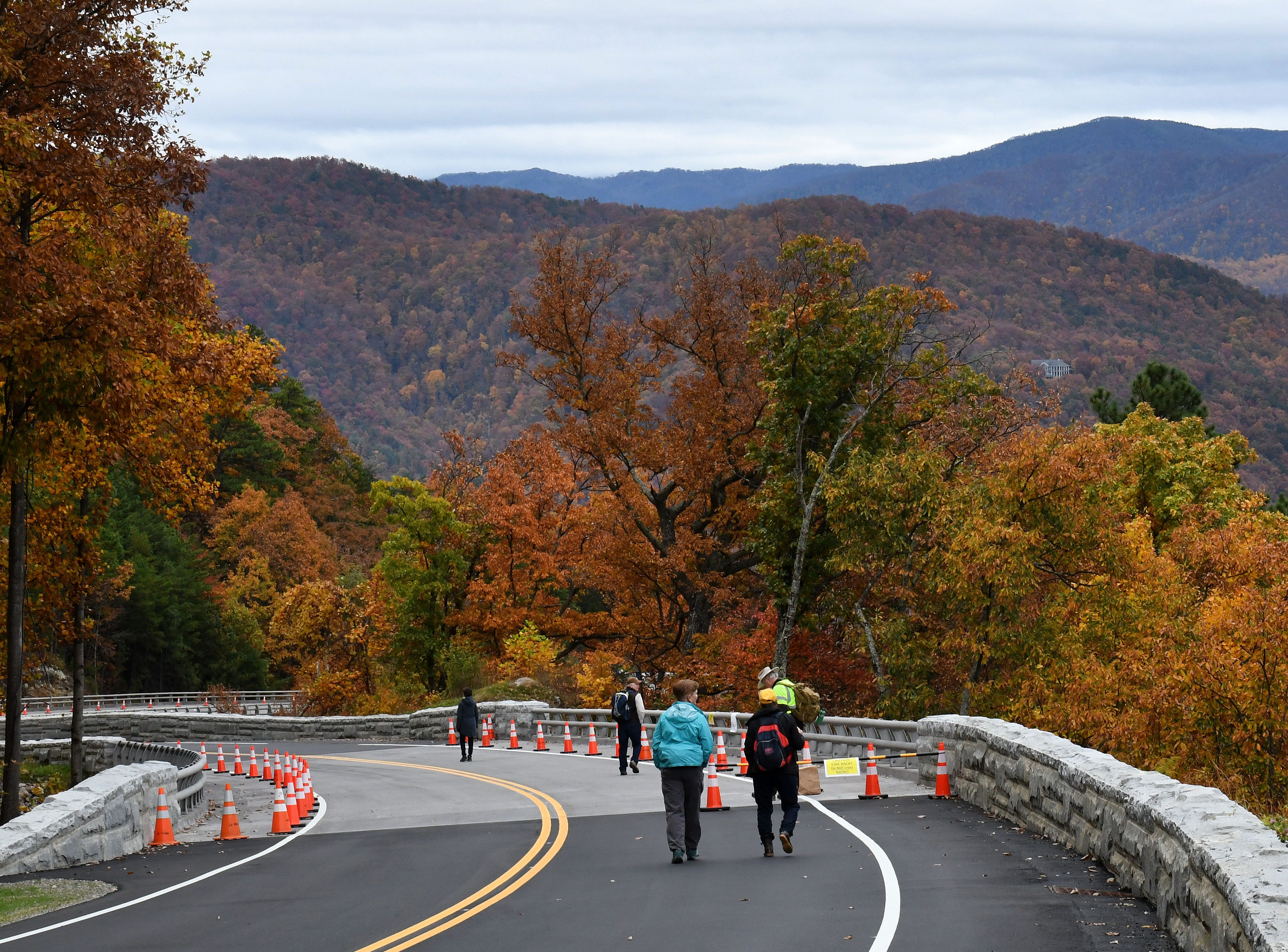 National Park Service held a Community Day Thursday, Nov. 8, 2018 for the public to experience the bridges along the 1.65-mile section known as the 'Missing Link' before it opens to motorists and cyclists Saturday.