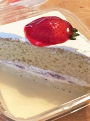 One of the biggest sellers at Rufy's Panaderias and Pastelerias is the Tres Leches cake. The cake is made with three layers: Cake, filling, and topping.
