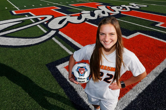 Alison Hannon of Harrison High School is the 2018 Journal & Courier Player of the Year for Soccer.