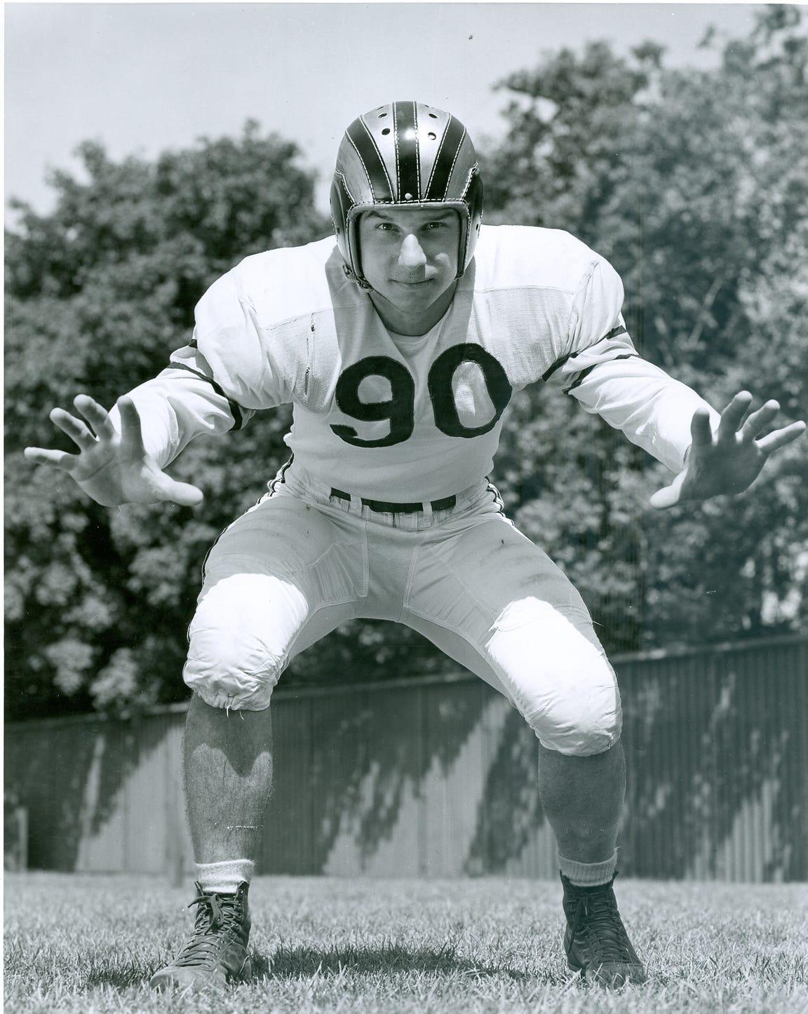 Purdue  defensive end Leo Sugar played nine years in the NFL.