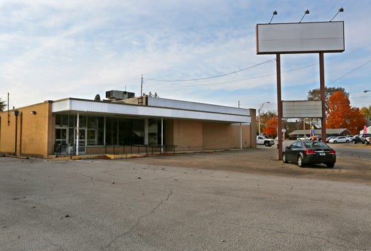 The former Osco store at the corner of Kossuth and Main streets Thursday, November 8, 2018, in Lafayette. The City of Lafayette has purchased the property and will tear down the building to make room for a new parking lot for Loeb Stadium and Columbian Park.