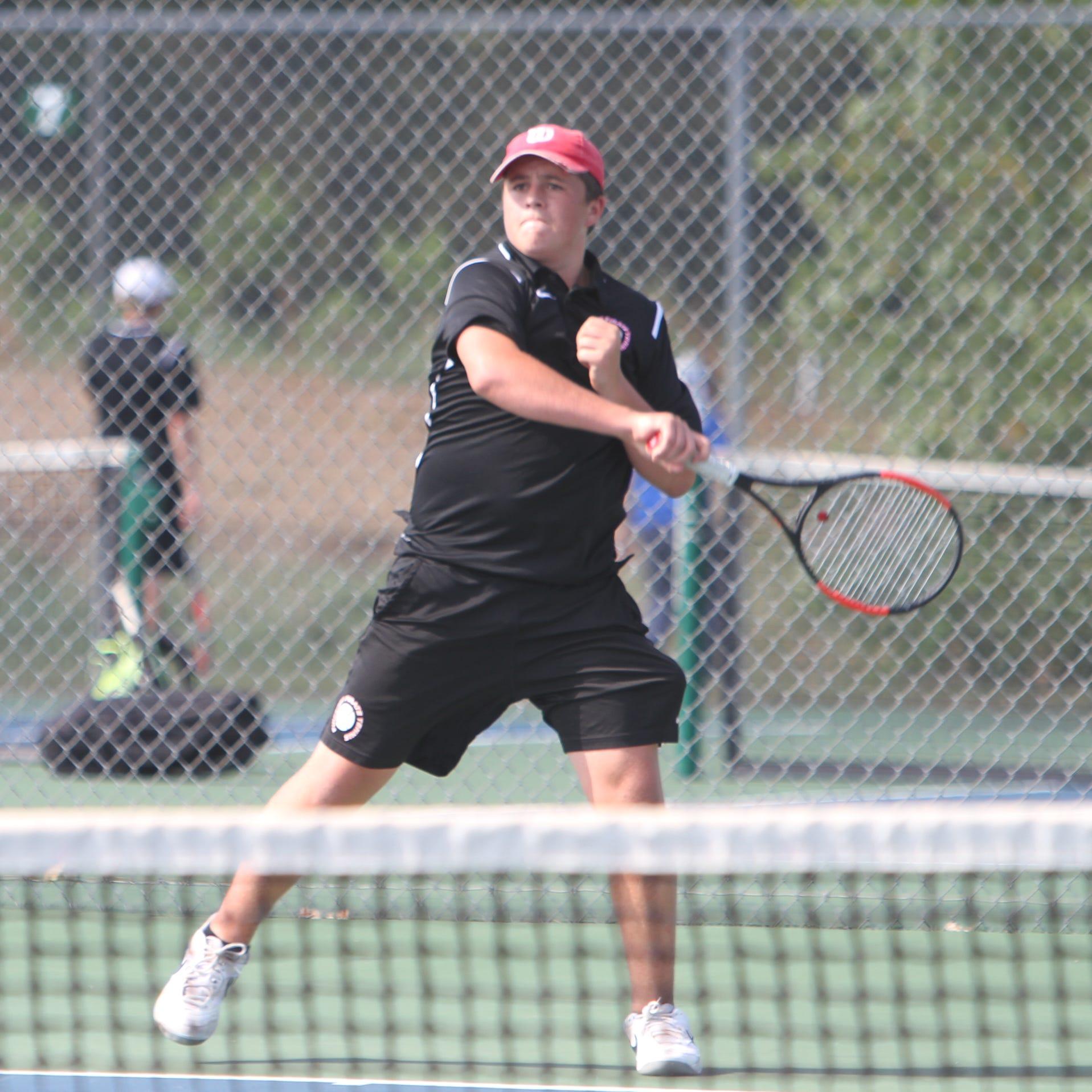 2018 All-Livingston County boys tennis team