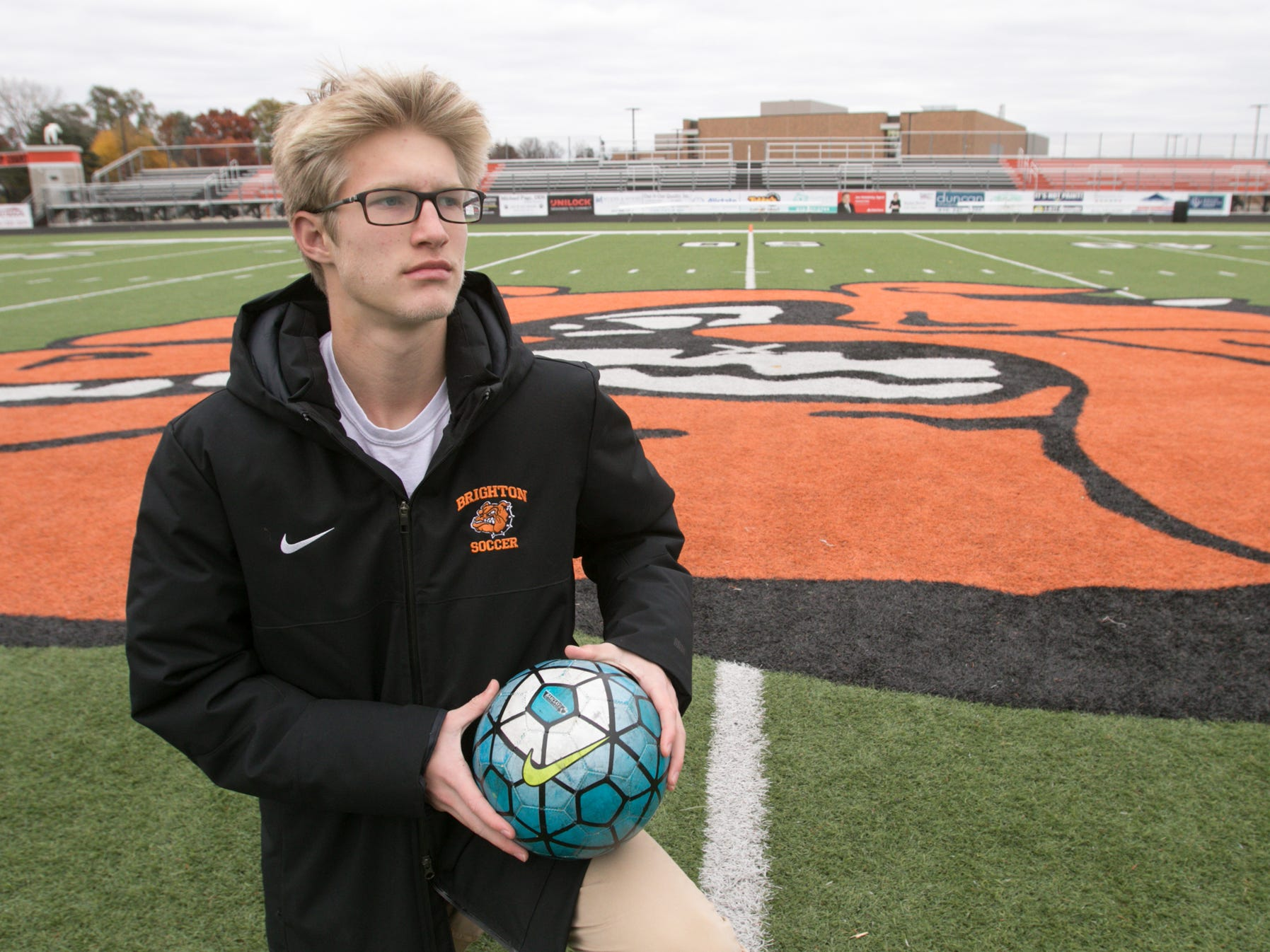 Livingston County Soccer Player of the Year gave Brighton 'extra bit of hope'