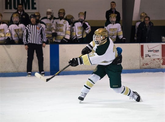 Graham Hassan had 17 goals and 24 assists last season to lead Howell in scoring.