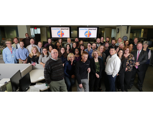 Louisville Courier Journal staff 2018