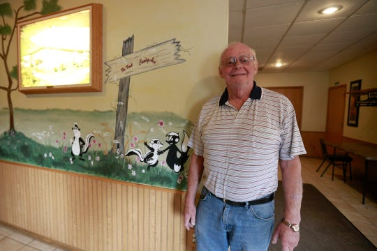 Owner Duane Bohman poses for a photo Tuesday, Oct. 2, 2018, at The Fresh Country Aire restaurant in the Marathon County Town of Day.