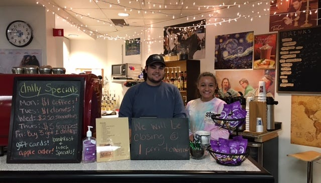 OSU-Mansfield student operates hospital coffee shop