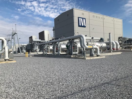 The Tennessee Valley Authority dedicated its Allen Combined-Cycle Natural Gas Plant in Memphis on Thursday, Nov. 8, 2018.