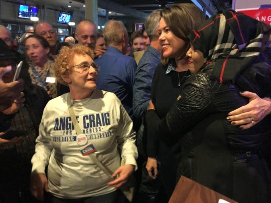 Angie Craig meets fans and soon-to-be constituents in Minnesota.