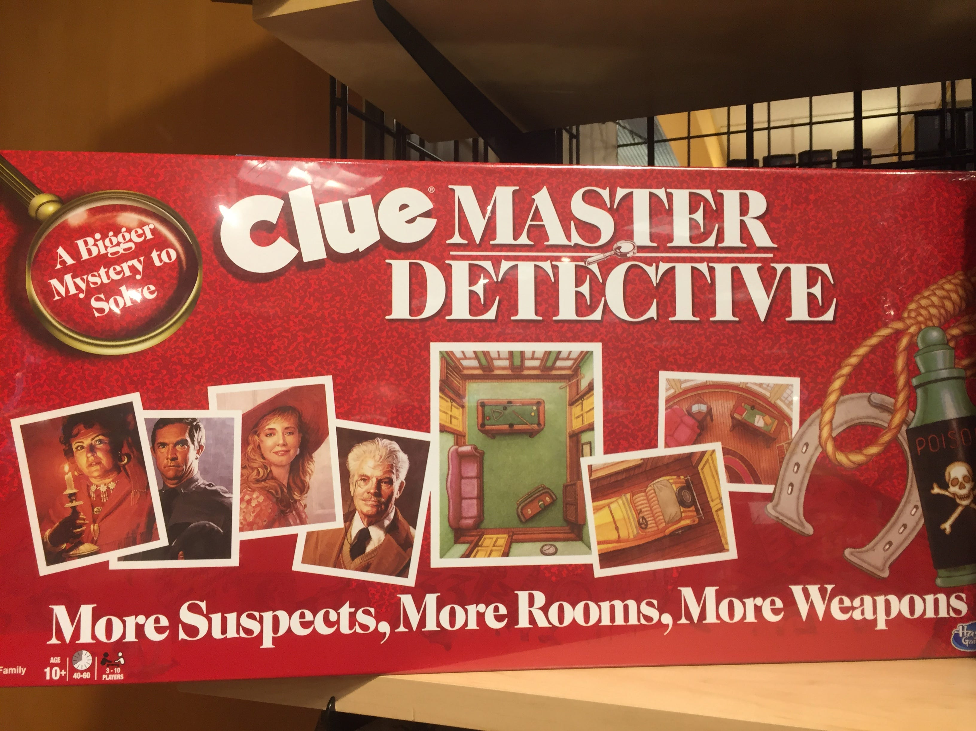Board Game Barrister Gordon Lugauer said his customers are excited that Clue Master Detective is available for the holiday season. He said this is the first time the game has been in print for years.