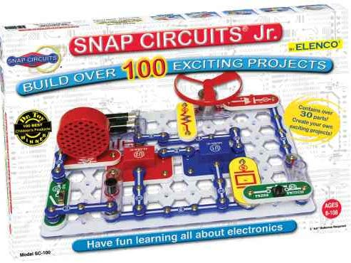 Bill Jarrett at American Science & Surplus says Snap Circuits are a building toy that teaches kids about electronics.