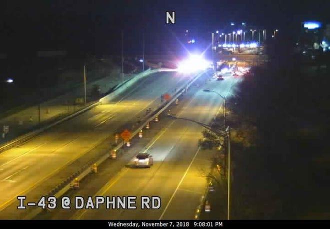 I-43 at Daphne Road