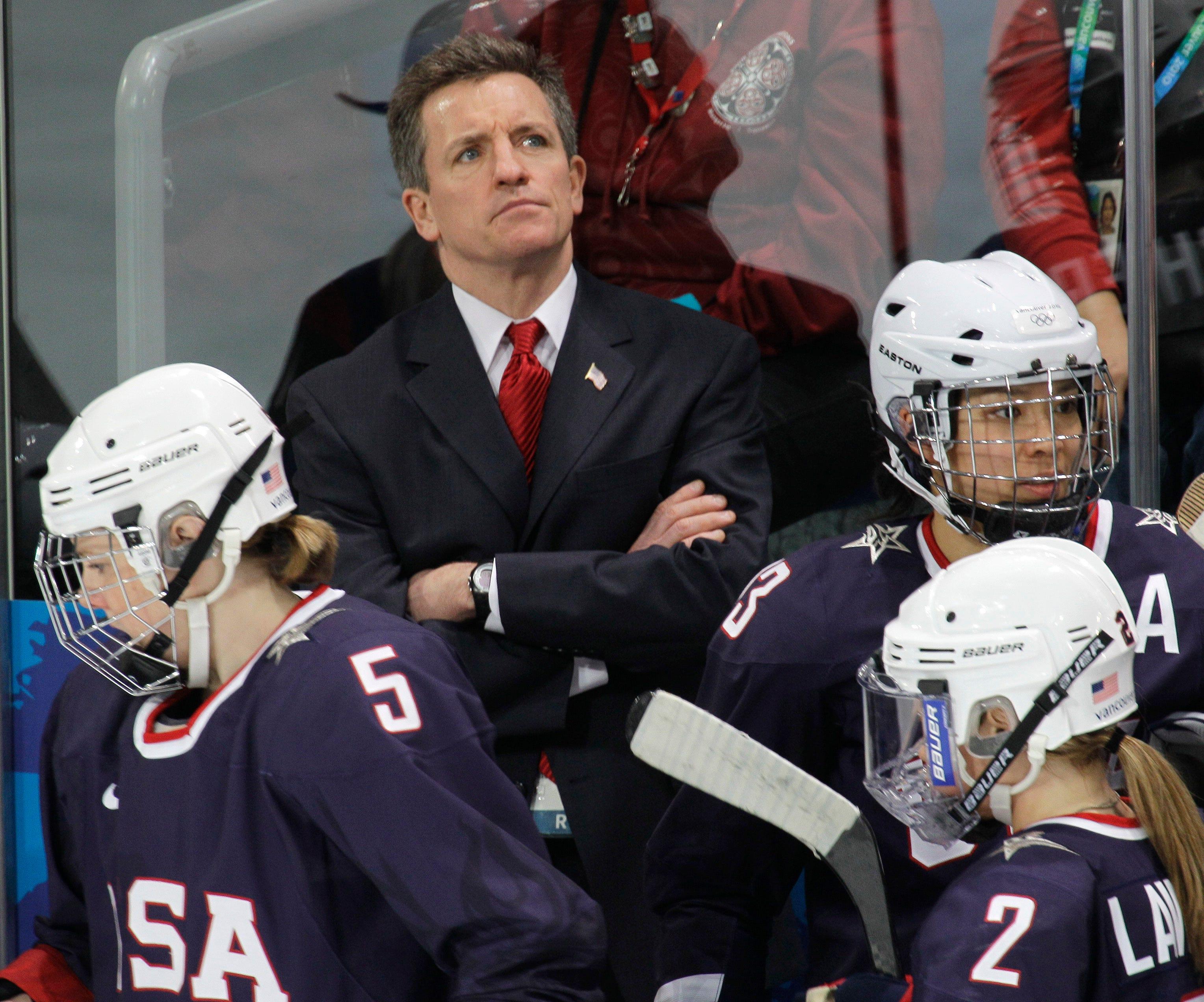 WCHA: Women - Wisconsin Badgers To Retire Jersey Of Hockey Staple Mark Johnson
