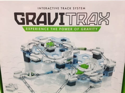 Chris Springer, of Allison Wonderland toy stores in Burlington and Lake Geneva, said building toys are among the most popular educational toys. Gravitrax allows kids to build their own marble runs.