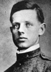 William Nehring was a private in Battery F of the Wisconsin National Guard's 120th Field Artillery when he died at the age of 19 in February 1918 from a ruptured appendix while training in Texas for deployment to France.